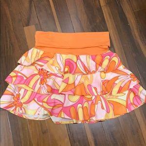 Sharagano layered skirt